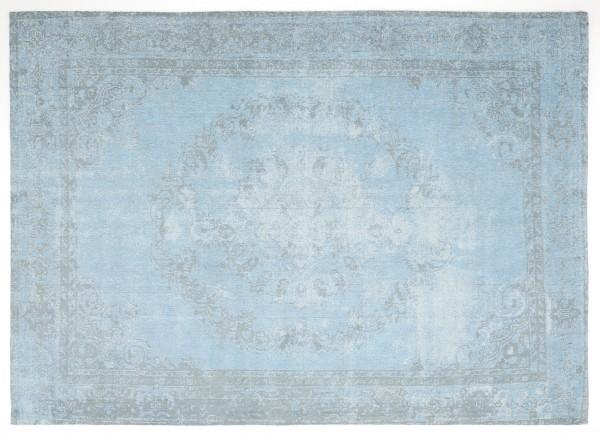Vintage-Orient-Teppich MEDAILLON, türkis