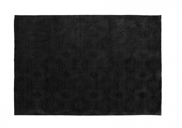 Design-Teppich LABYRINTH 98.252, 160 x 230 cm, dunkelgrau