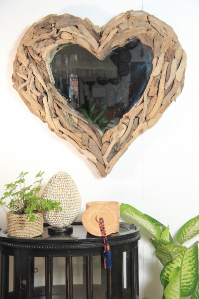 Spiegel in Herzform HEART 303735