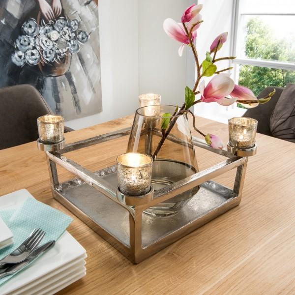Teelichthalter (ohne Vase!)