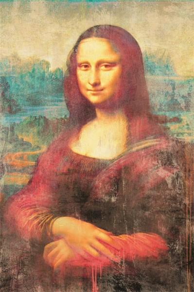 """Wandbild auf Alu Dibond """"MONA LISA"""" 1100235"""