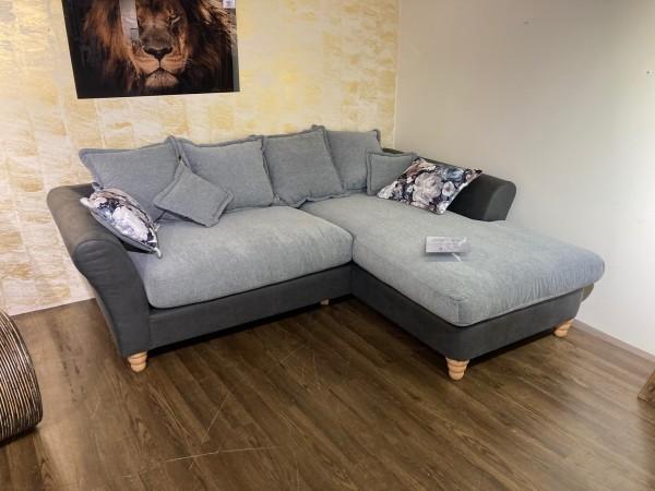 BENFORMATO Sofa 2-sitzig-Recamiere CORDULA