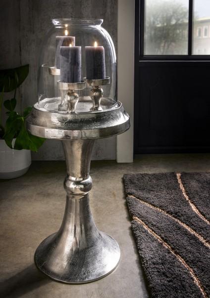 Deko-Kerzenständer mit Klarglasglocke, 97.329
