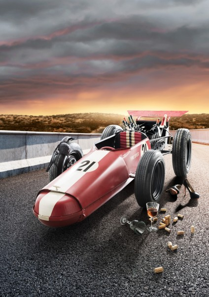 "Unikat-Rennwagen-Bar ""Formula"", 95.040"