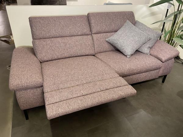 DFM Sofa 3-sitzig mit 2 elekt. Relaxfunktionen DETROIT
