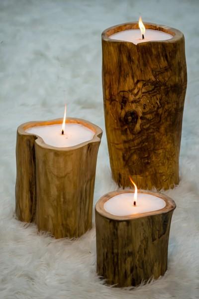 Baum-Kerzen im 3er-Set, 401104